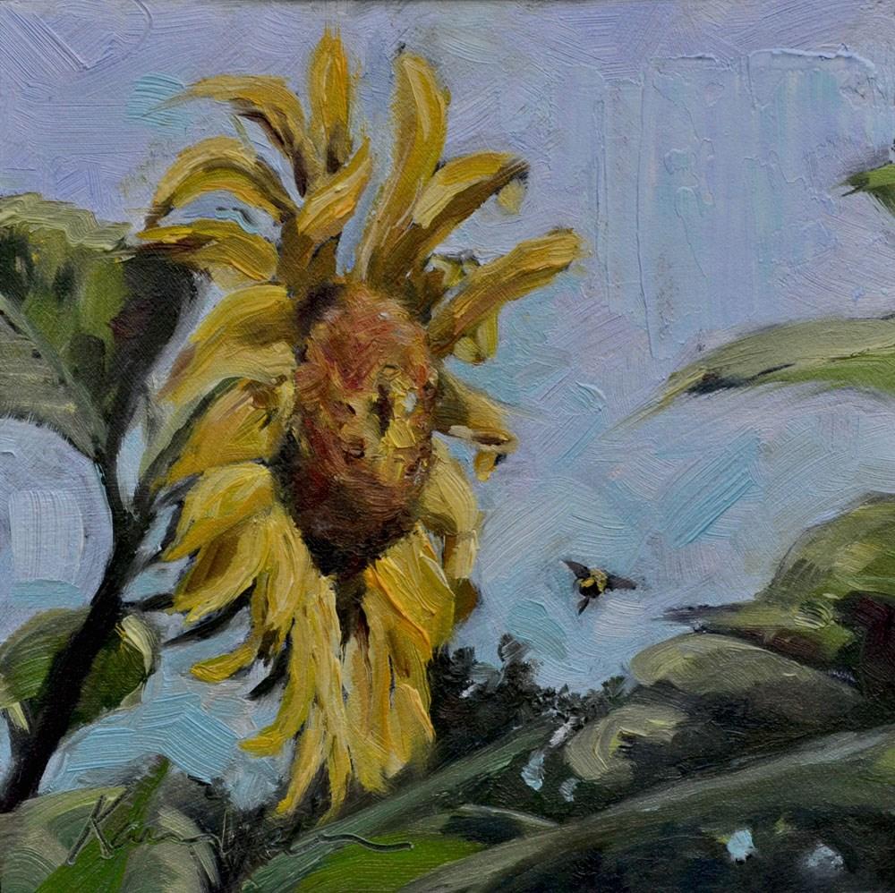 """""""Onward to better things"""" original fine art by Karen Weber"""