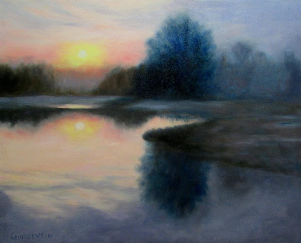 """24 x 30 inch oil"" original fine art by Linda Yurgensen"
