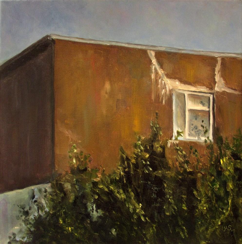 """Closed View"" original fine art by Ulrike Miesen-Schuermann"