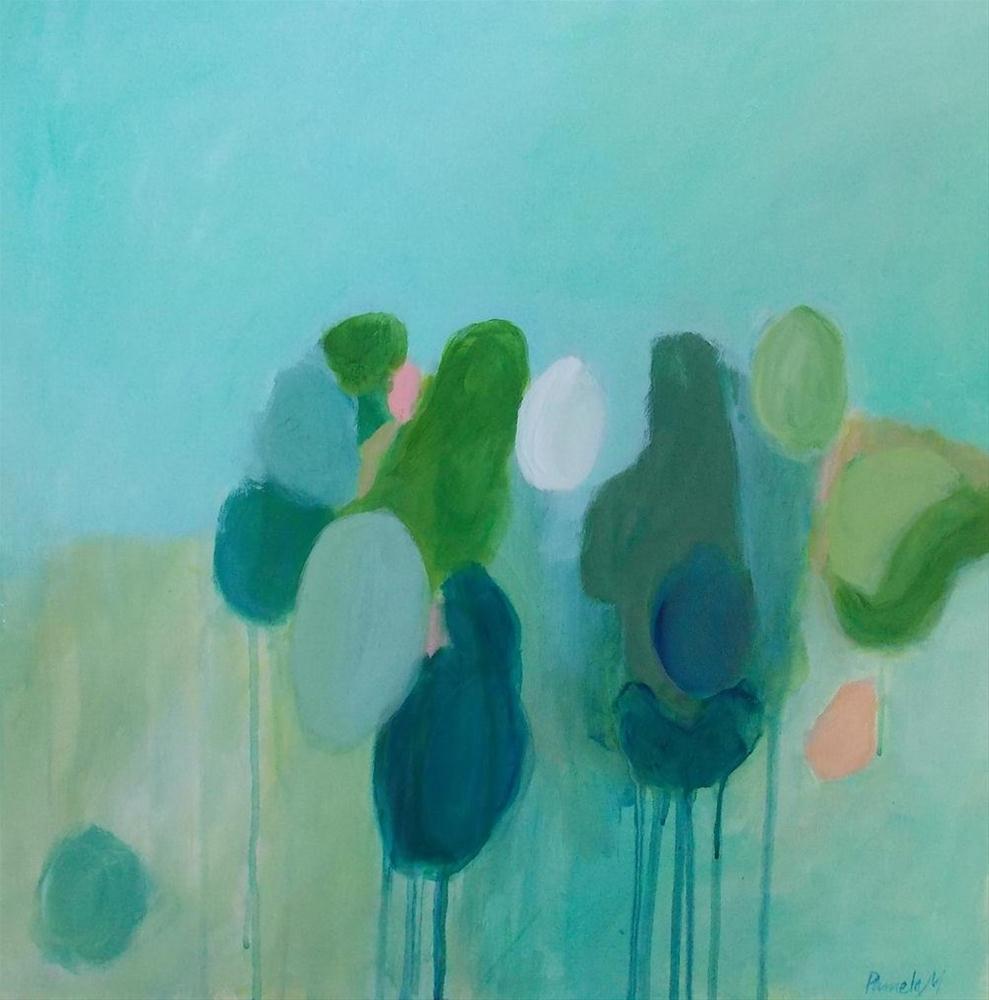 """""""Garden Party"""" original fine art by Pamela Munger"""