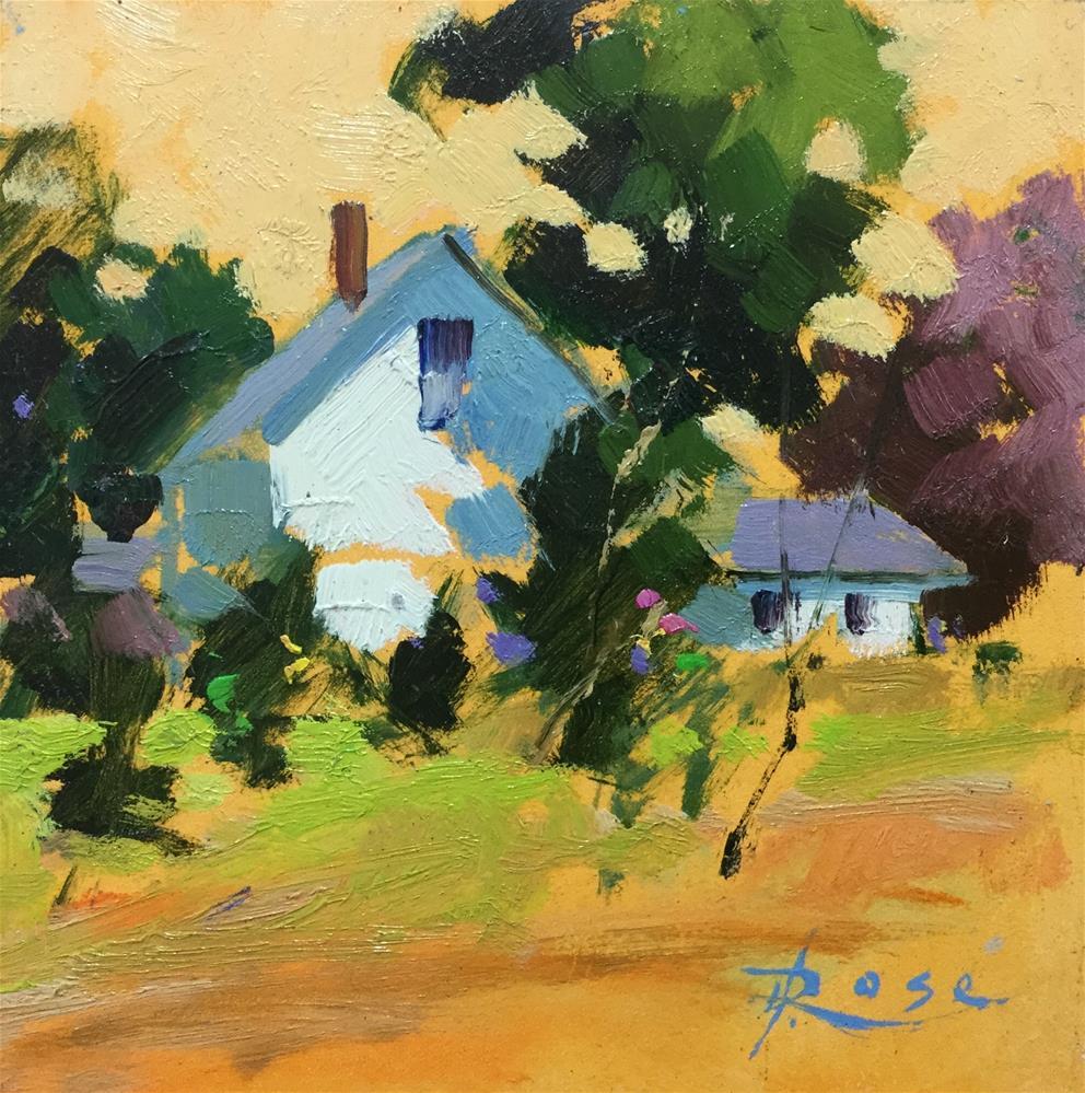 """""""Indy summer"""" original fine art by Howard Rose"""