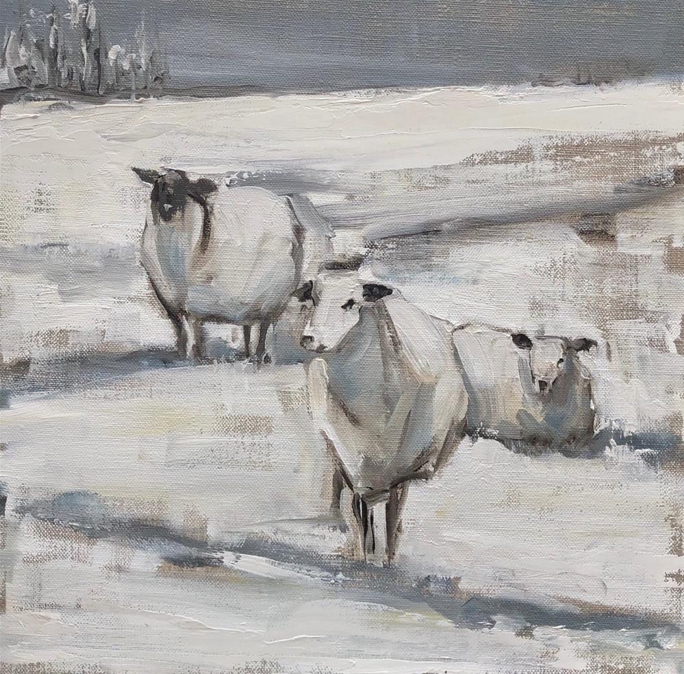 """midwinter"" original fine art by Carol Carmichael"