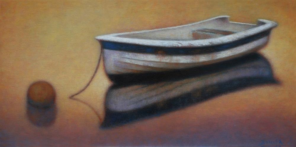 """Quietly Hoping"" original fine art by Todd Bonita"
