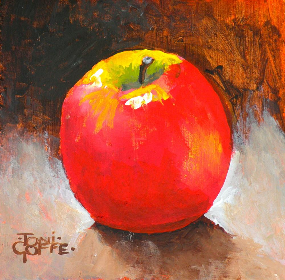 """Apple 1"" original fine art by Toni Goffe"