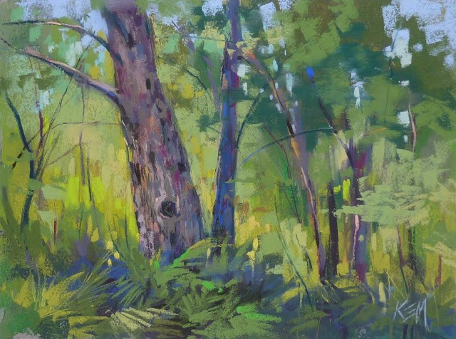 """""""When to Use  Local Color for an Underpainting"""" original fine art by Karen Margulis"""