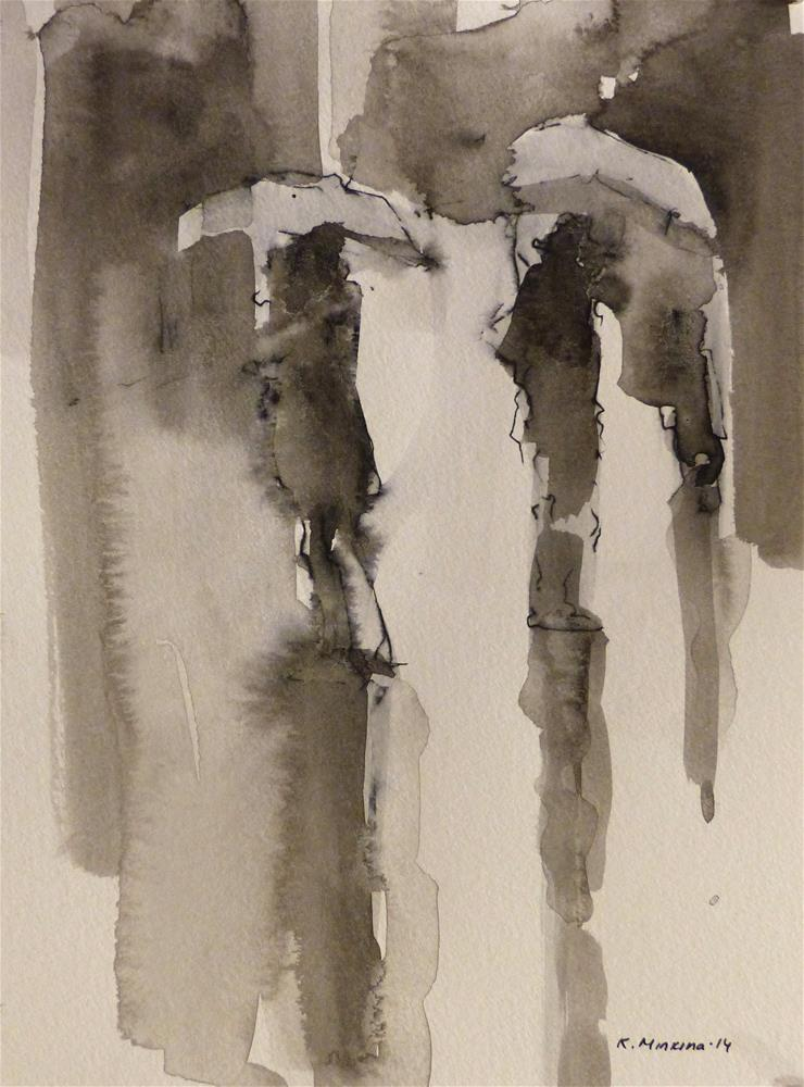 """urban8"" original fine art by Katya Minkina"
