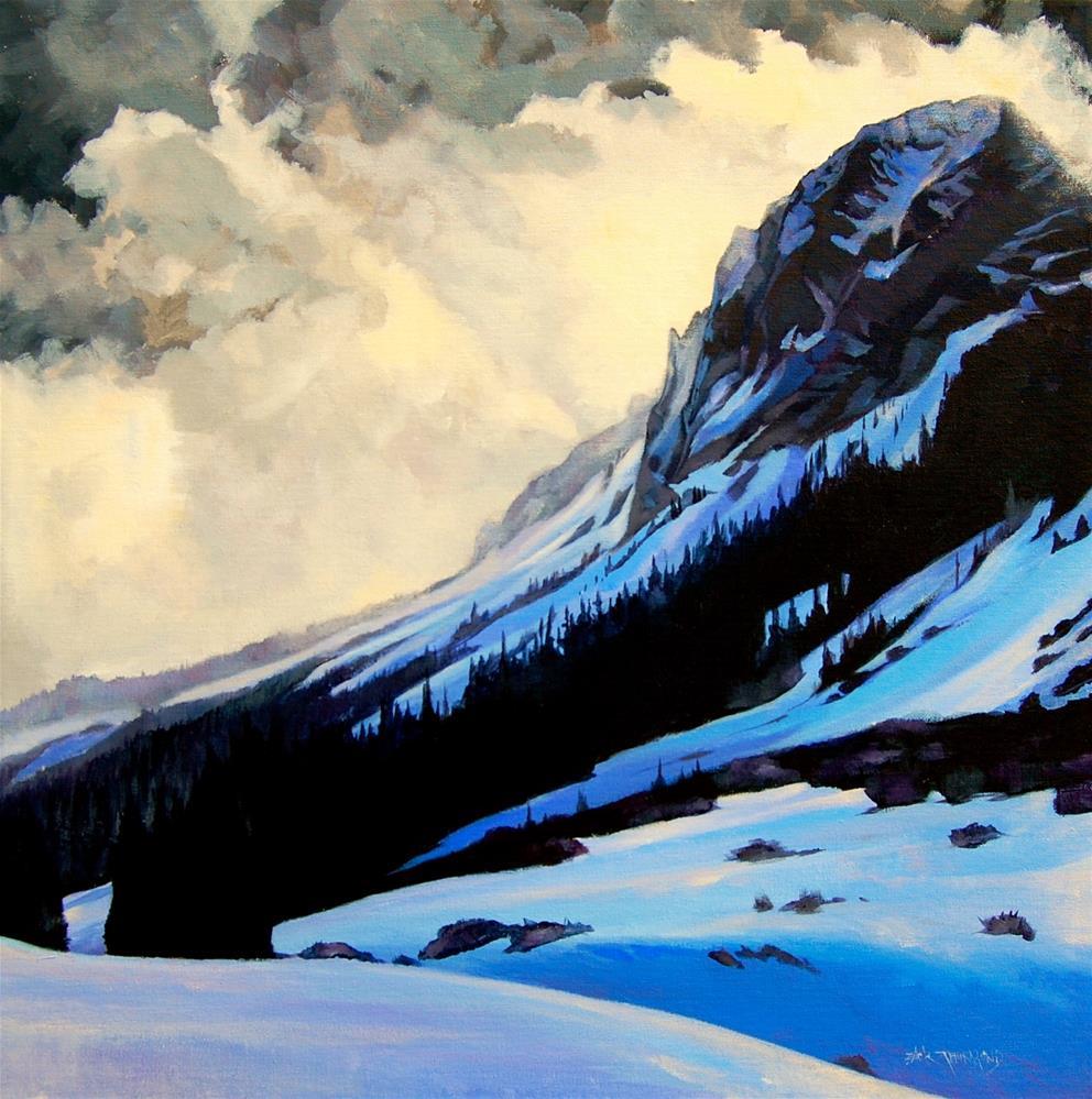 """""""Gothic Wintertide"""" original fine art by Zack Thurmond"""