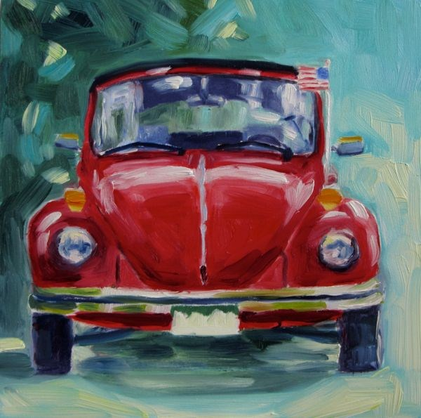 """Lady Bug"" original fine art by Mb Warner"