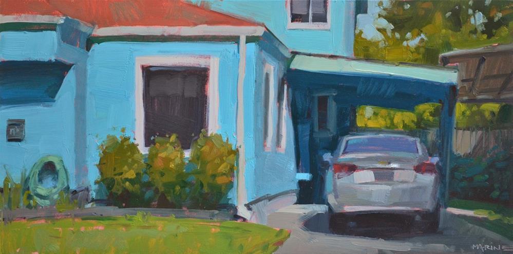"""""""Parked"""" original fine art by Carol Marine"""