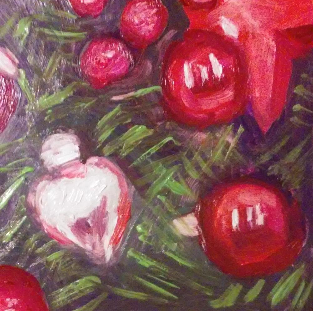 """Deck the Halls"" original fine art by Gerri Obrecht"