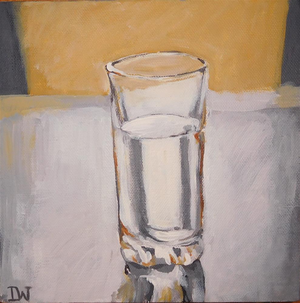 """""""Glass """" original fine art by Daryl West"""