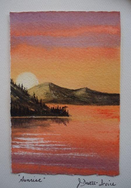 """Serenity Series No. 6"" original fine art by Jackie Irvine"