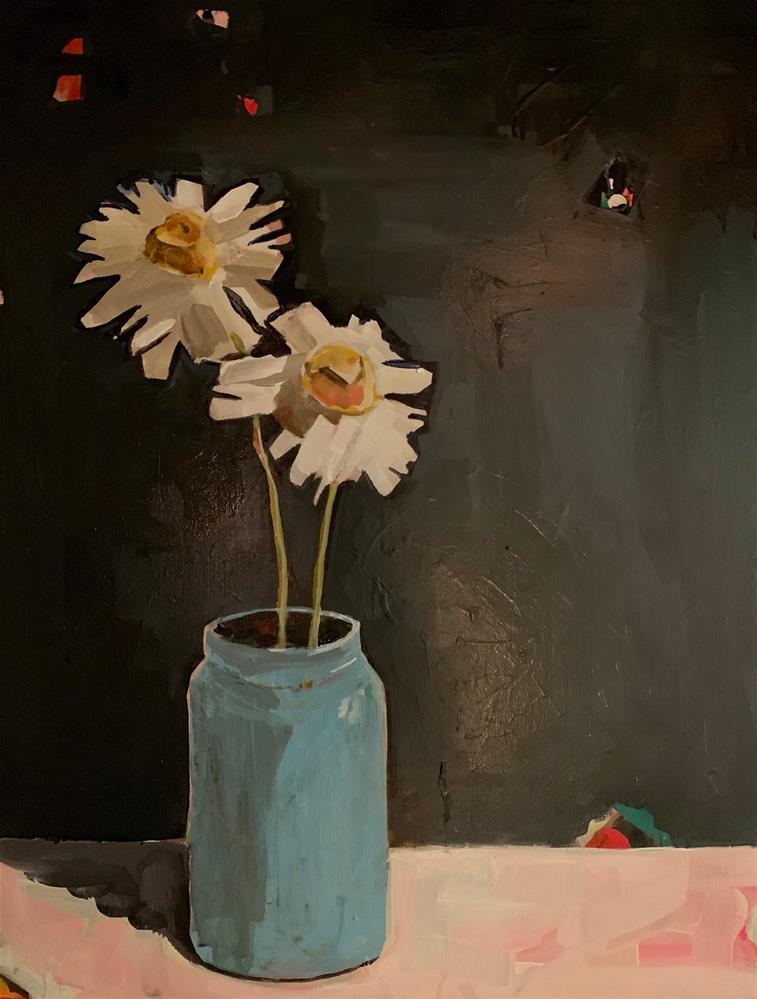 """682 Stillness the Dancing"" original fine art by Jenny Doh"