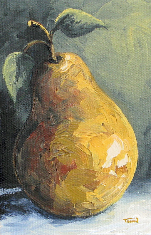 """The Pear Chronicles 014"" original fine art by Torrie Smiley"
