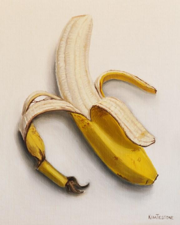 """Going Brown Banana"" original fine art by Kim Testone"