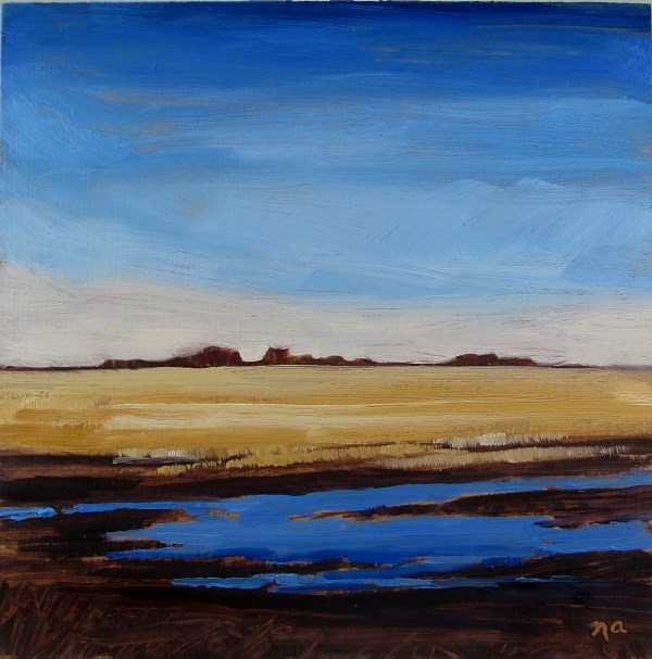 """Watered Down"" original fine art by Nicki Ault"