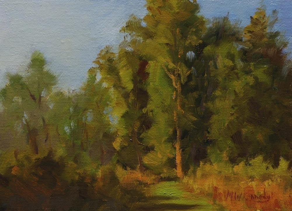 """""""Colors at Dusk"""" original fine art by Michael Kennedy"""