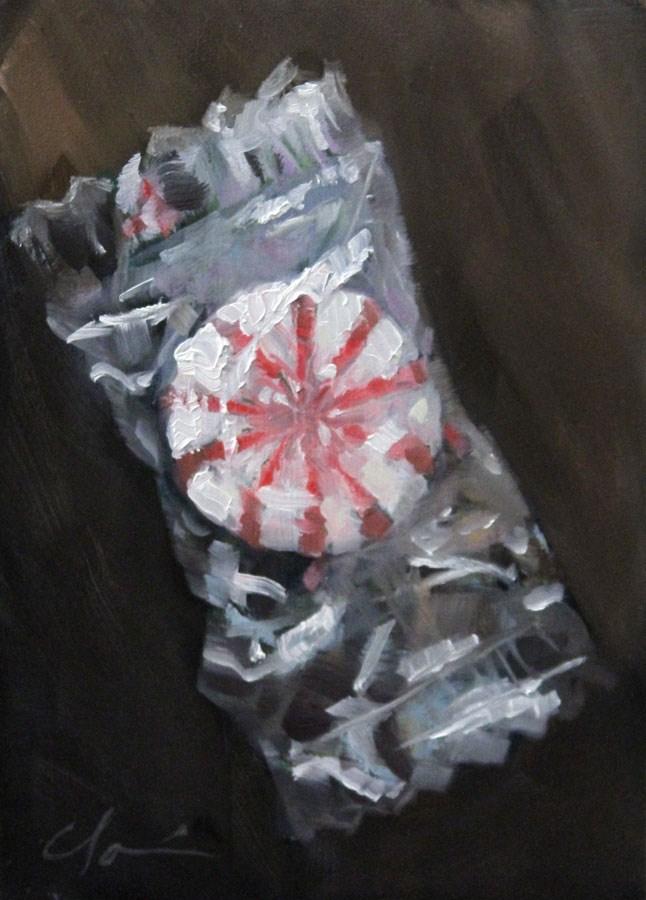 """""""After Dinner Mint"""" original fine art by Clair Hartmann"""