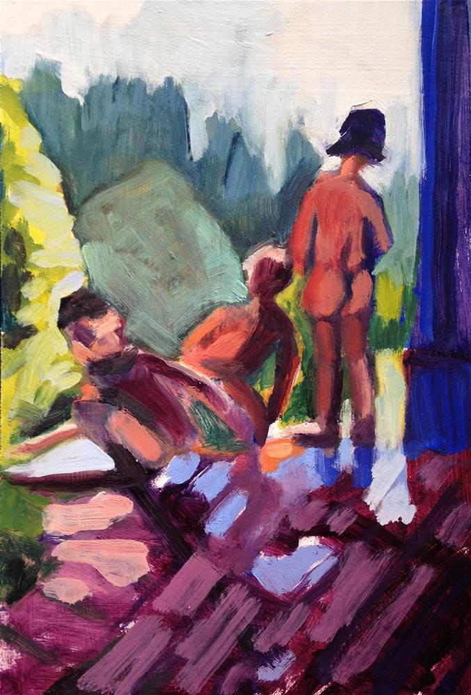 """Bouquet of Children II"" original fine art by Pamela Hoffmeister"