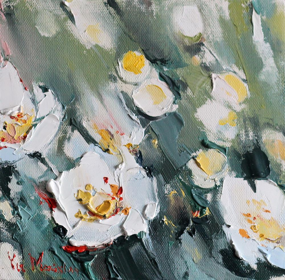 """Spring "" original fine art by Yuliia Meniailova"