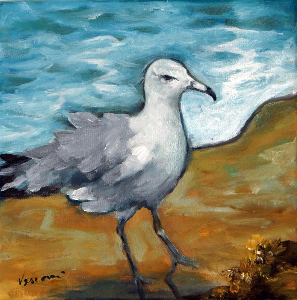 """Ruffled Feathers"" original fine art by Valerie Vescovi"