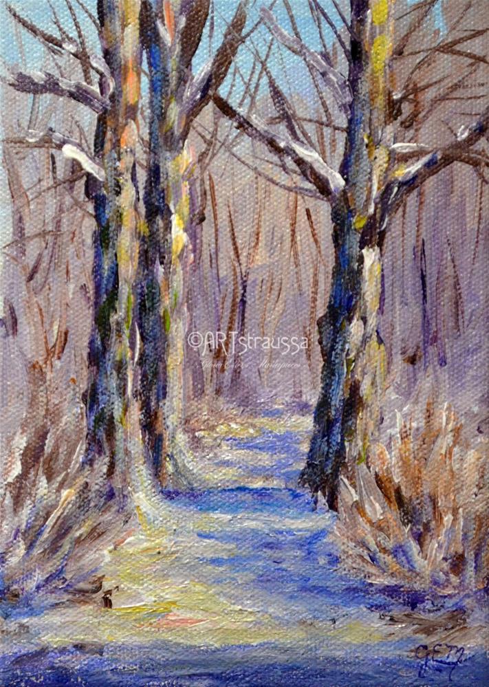 """""""The Netherwoods"""" original fine art by Gloria Ester"""
