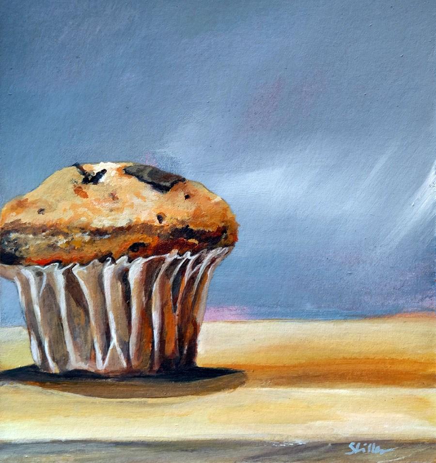 """""""1660 Chocolate Muffin"""" original fine art by Dietmar Stiller"""