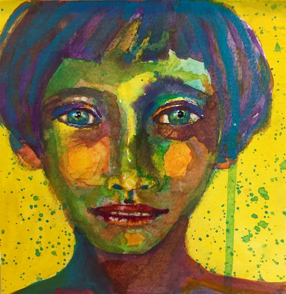"""#73 True Colors"" original fine art by Silke Powers"