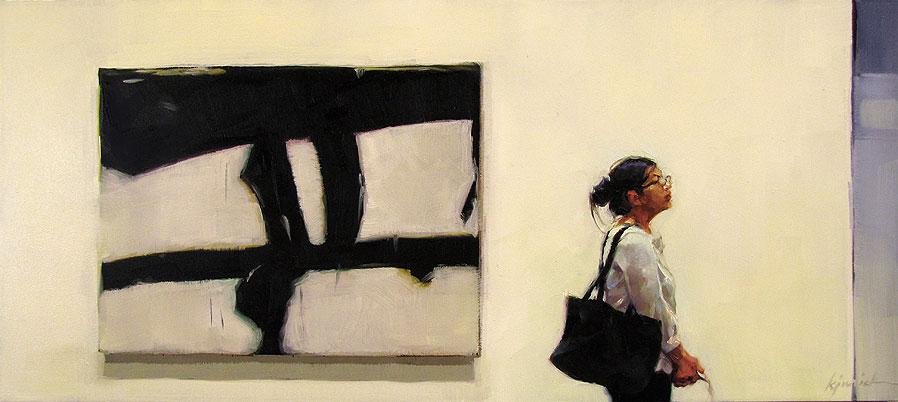 """Abstract Thought"" original fine art by Karin Jurick"