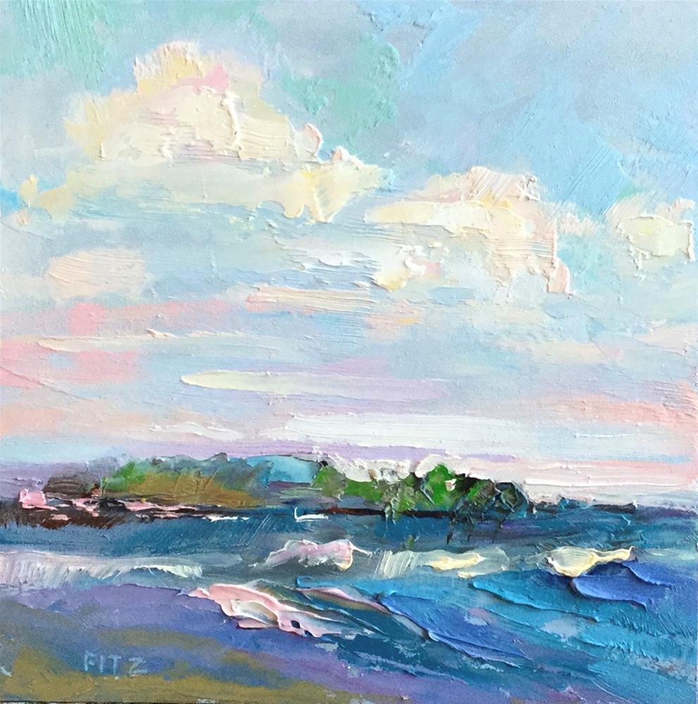 """Summer Breezes"" original fine art by Charlotte Fitzgerald"