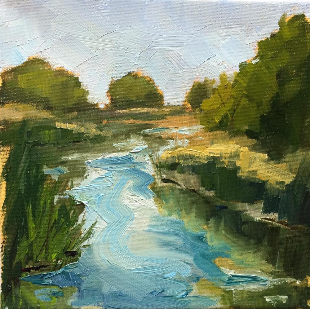 """Hidden Water"" original fine art by Naomi Bautista"