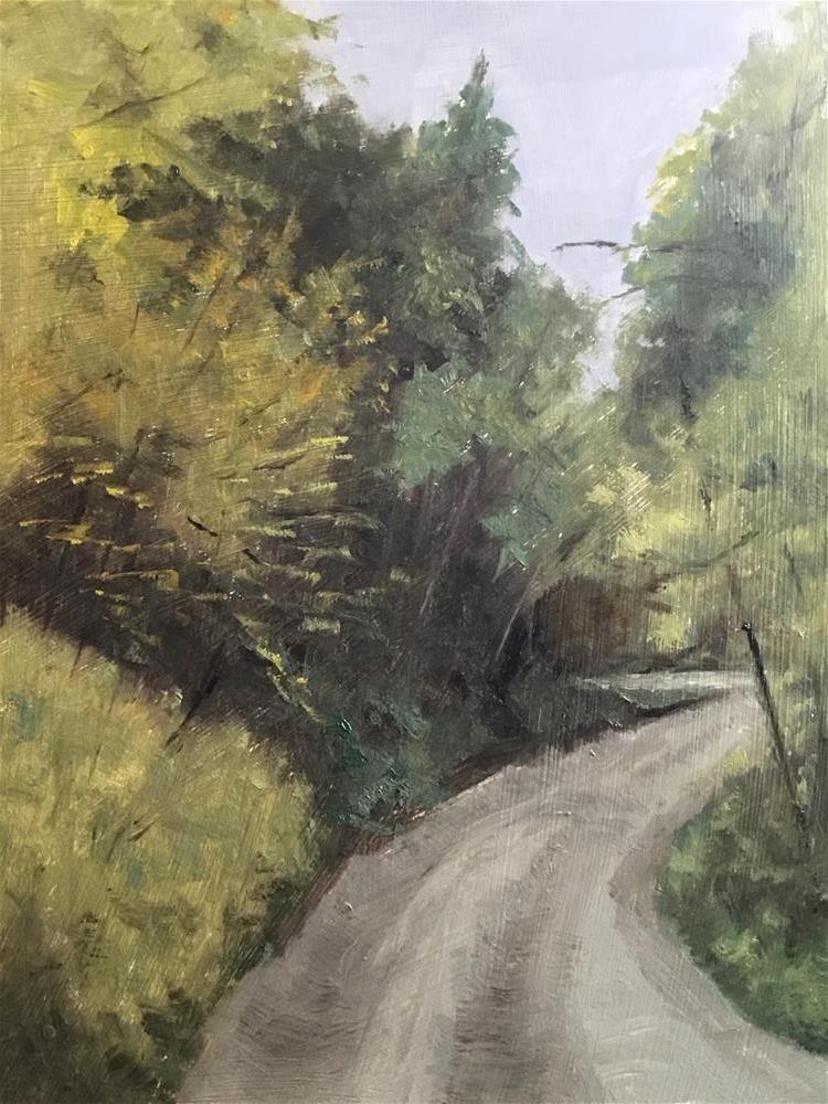 """Summer Foliage"" original fine art by Betty Argiros"