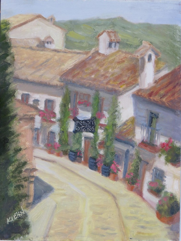 """Zahara"" original fine art by Richard Kiehn"