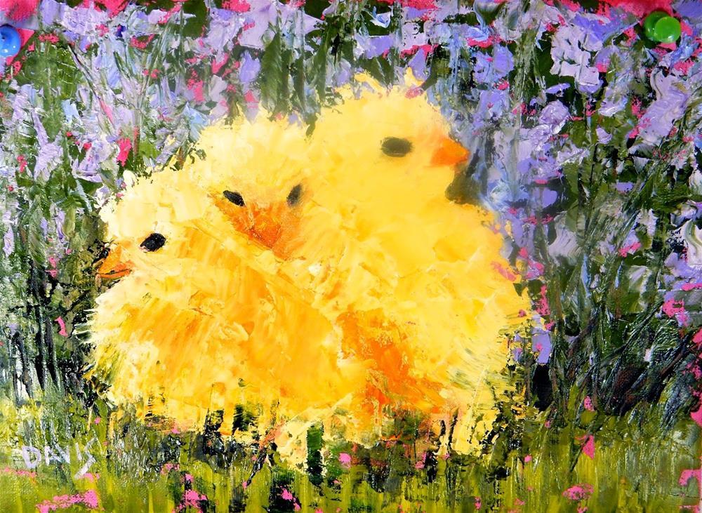 """Three's Company"" original fine art by Phyllis Davis"