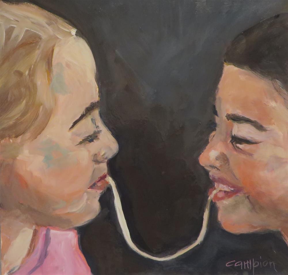 """""""773 Best Friends"""" original fine art by Diane Campion"""