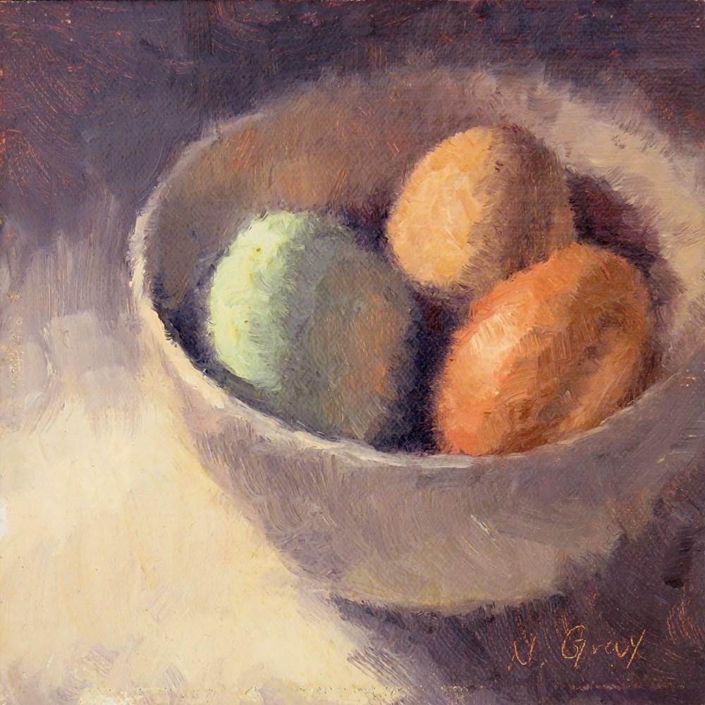 """Prelude to Breakfast"" original fine art by Naomi Gray"