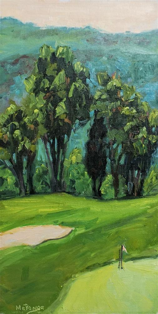 """Watchers on the Green"" original fine art by Patricia Matranga"