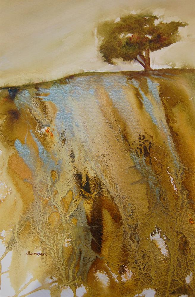 """On The Ridge"" original fine art by Jean Lurssen"