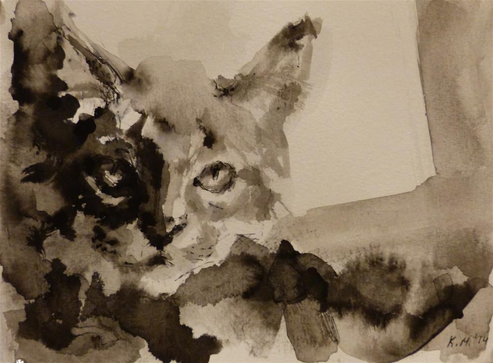 """adopt38"" original fine art by Katya Minkina"