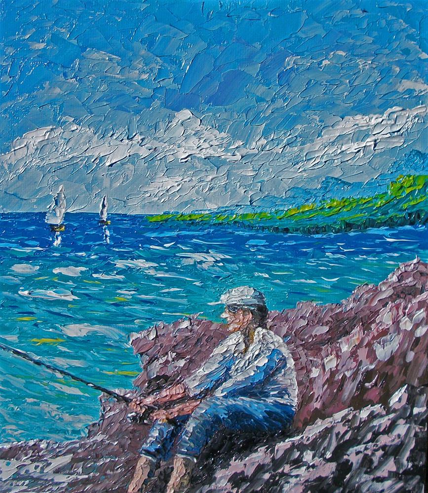 """Some Me Time"" original fine art by Ken Fraser"