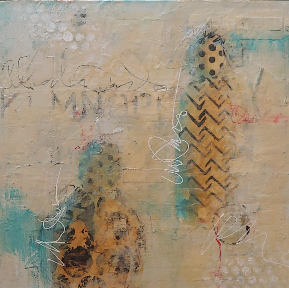 """Unspoken"" original fine art by Cindy Haase"
