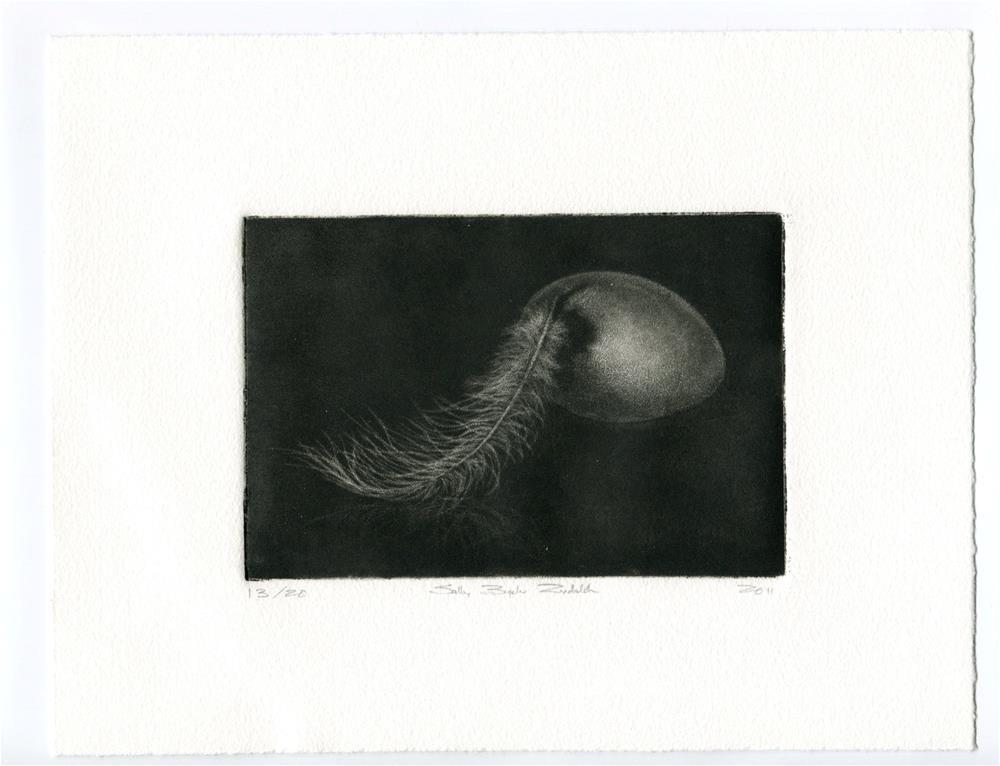 """Untitled"" original fine art by Sally Rydalch"