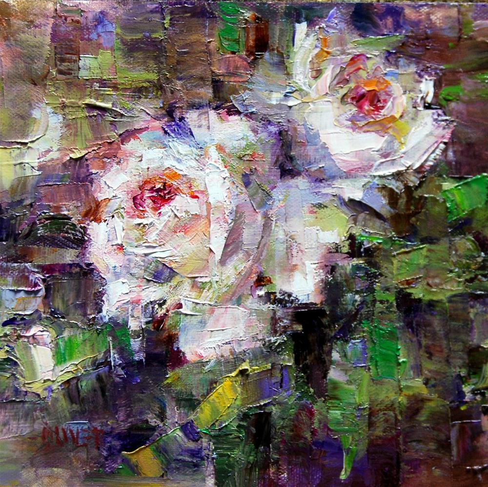 """Beauty with Thorns"" original fine art by Julie Ford Oliver"