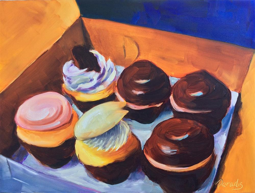 """You Gotta Try One of These"" original fine art by Rita Paradis"