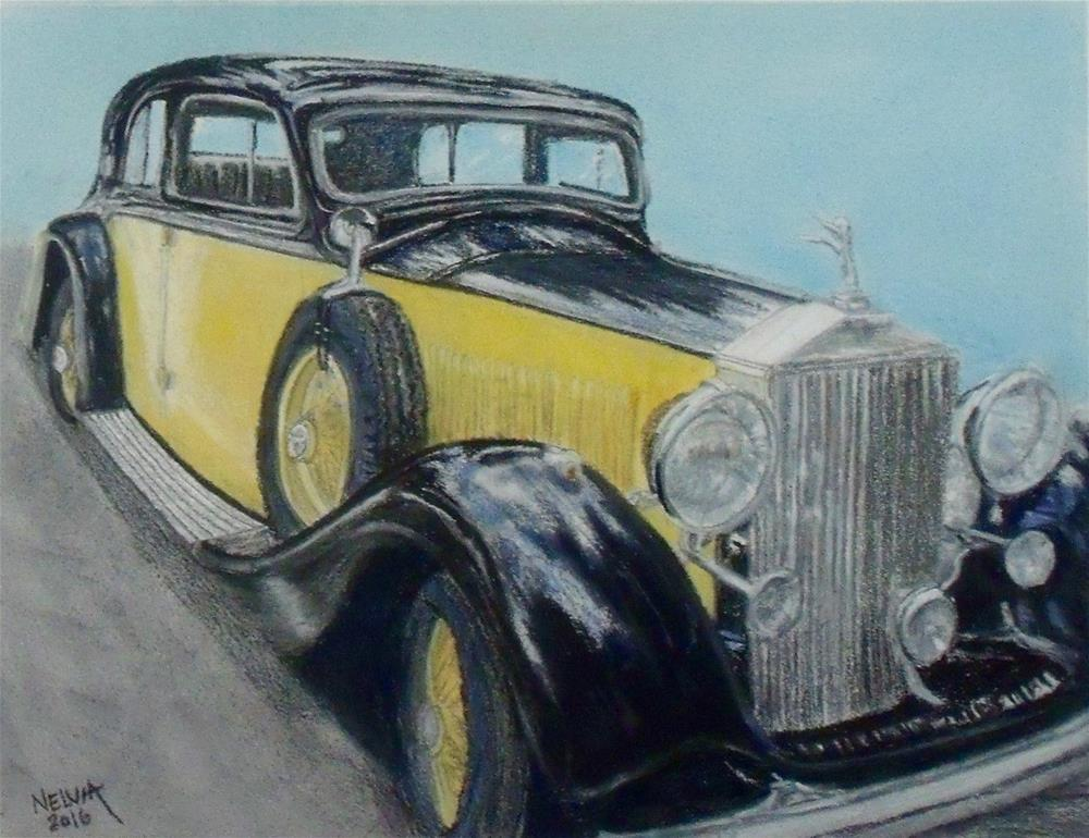 """Classic Ride"" original fine art by Nelvia McGrath"