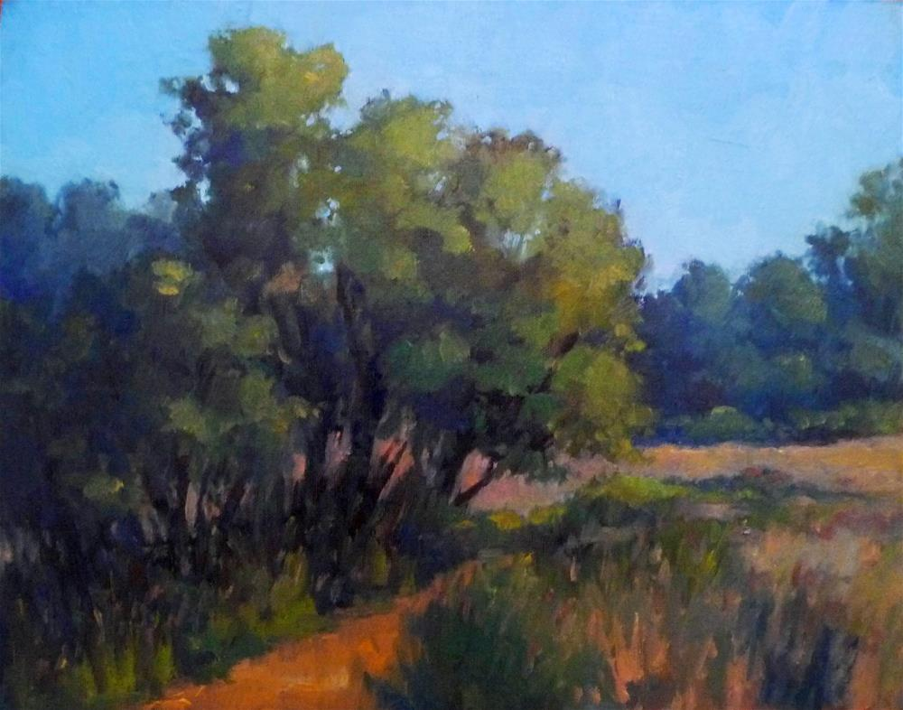 """""""A Perfect Day for a Hike"""" original fine art by Lisa Kyle"""
