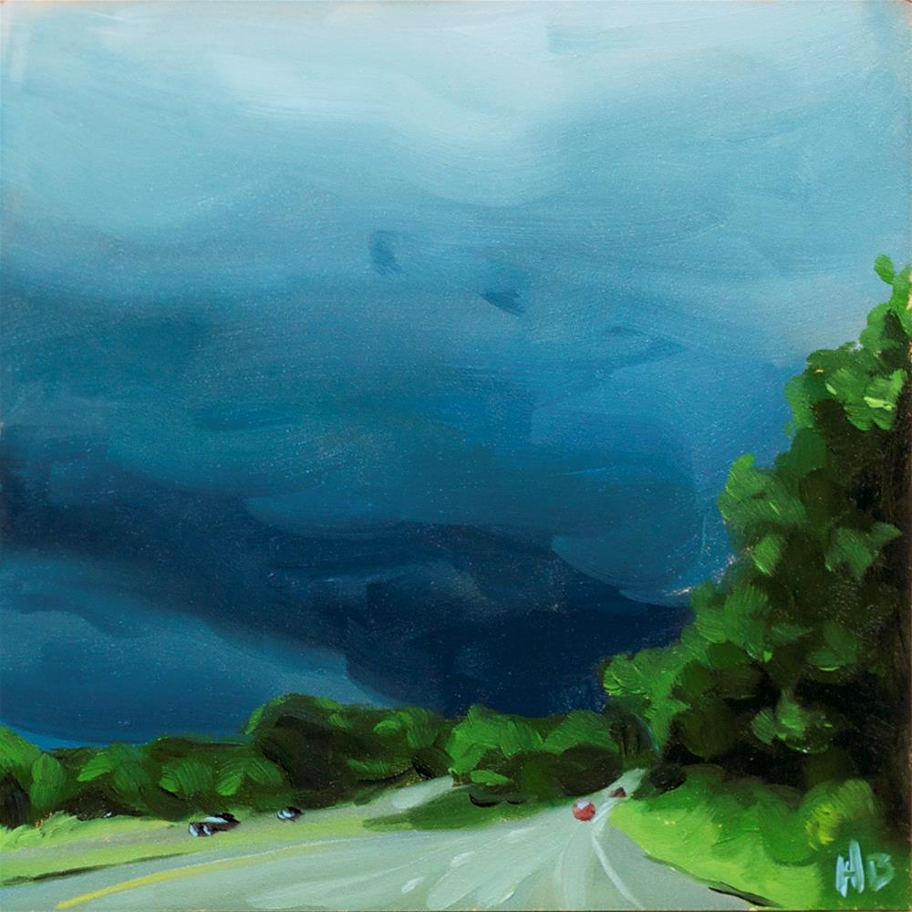 """""""Into the Storm"""" original fine art by Heather Bullach"""