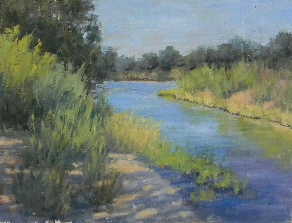 """Morning Shadows"" original fine art by Barbie Smith"