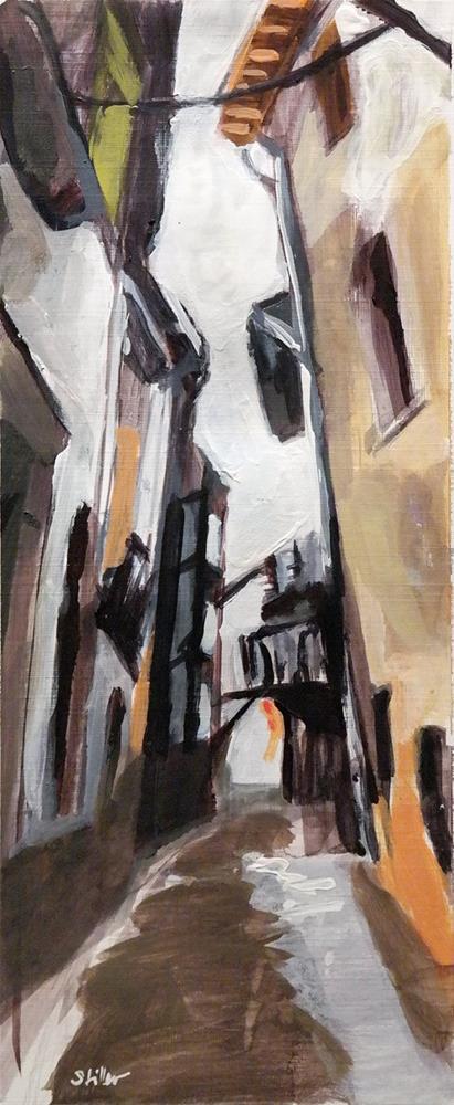 """""""2623 Cézanne-en-Aix"""" original fine art by Dietmar Stiller"""