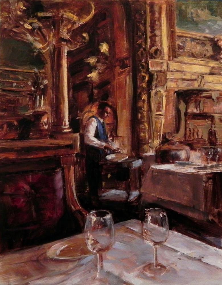 """After Lunch"" original fine art by Jonelle Summerfield"